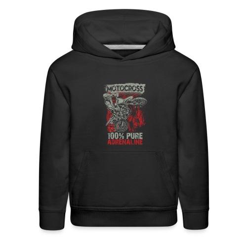 Motocross Pure Adrenaline - Kids' Premium Hoodie