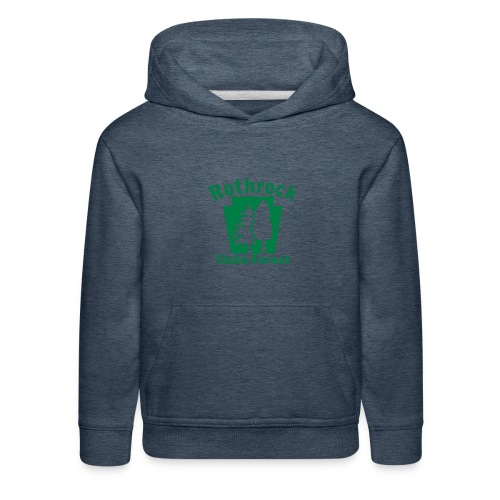 Rothrock State Forest Keystone (w/trees) - Kids' Premium Hoodie
