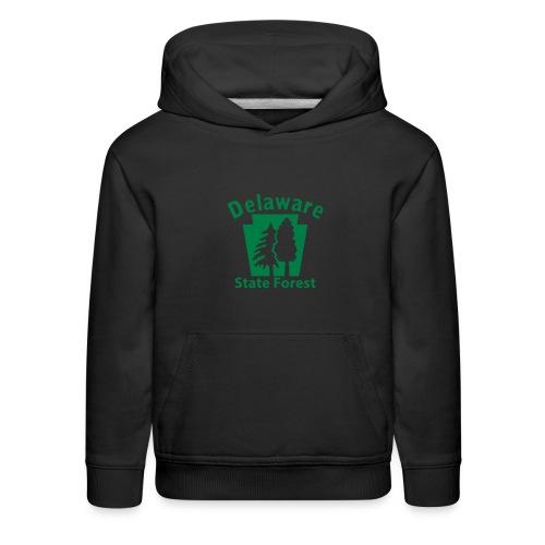 Delaware State Forest Keystone (w/trees) - Kids' Premium Hoodie