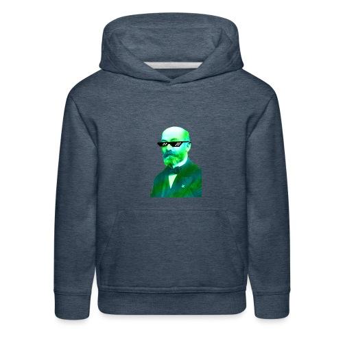 Green and Blue Zamenhof - Kids' Premium Hoodie