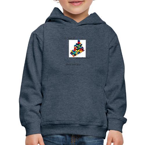Hi I'm Ronald Seegers Collection-(transparent) - Kids' Premium Hoodie