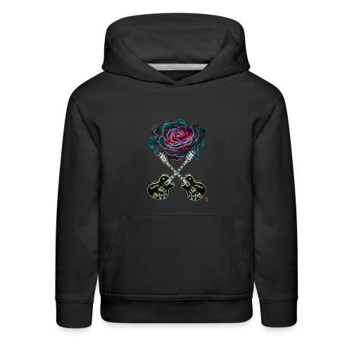Black Rose - Kids' Premium Hoodie