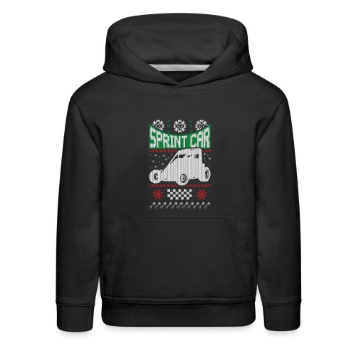 Sprint Car Christmas - Kids' Premium Hoodie