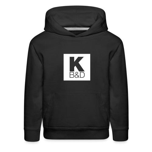 KBD_White - Kids' Premium Hoodie