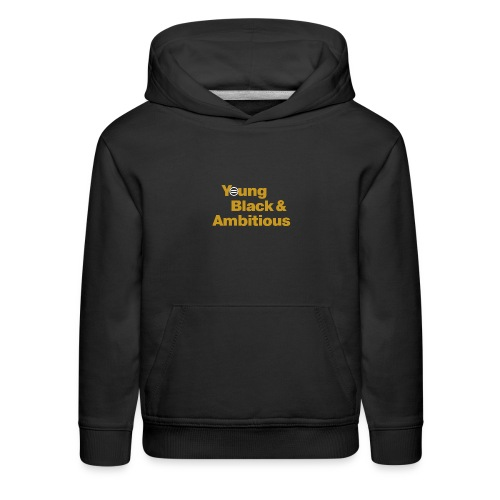 YBA Black and Gold Shirt2 - Kids' Premium Hoodie
