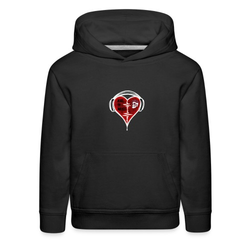 Axelofabyss Music in your heart - Kids' Premium Hoodie