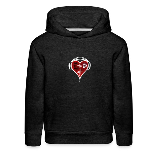 Axelofabyss Music in your heart - Kids' Premium Hoodie