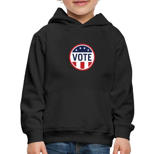 Vote Red White and Blue Stars and Stripes - Kids' Premium Hoodie