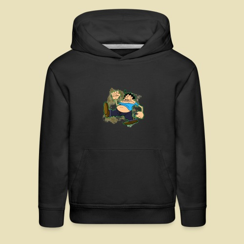 Ongher's UFO Ongher March - Kids' Premium Hoodie
