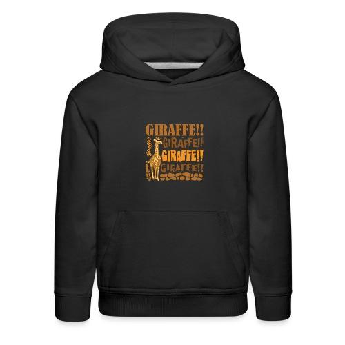 Giraffe!! - Kids' Premium Hoodie