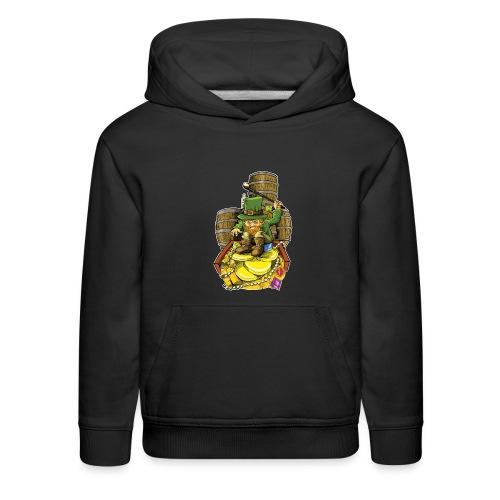 Angry Irish Leprechaun - Kids' Premium Hoodie