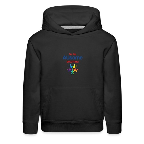 On the AUsome Spectrum - Kids' Premium Hoodie