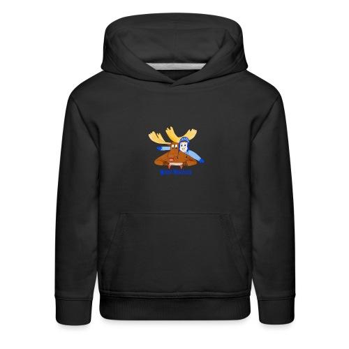 Moose Mischief - Kids' Premium Hoodie