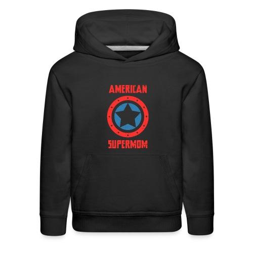 American Supermom - Kids' Premium Hoodie