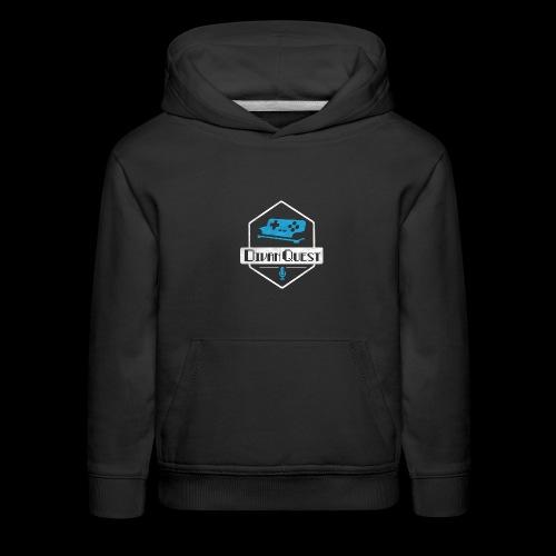 DivanQuest Logo (Badge) - Kids' Premium Hoodie