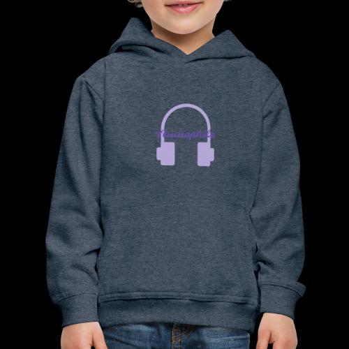 Audiophile Headphones - Kids' Premium Hoodie