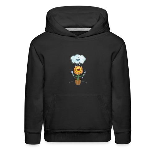 Cloud & Flower - Best friends forever - Kids' Premium Hoodie