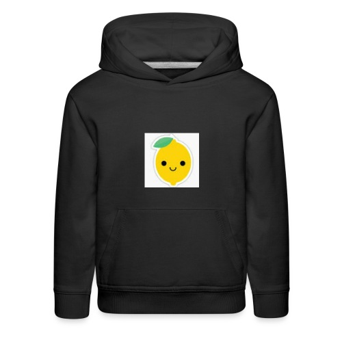Lemon Squeeze - Kids' Premium Hoodie