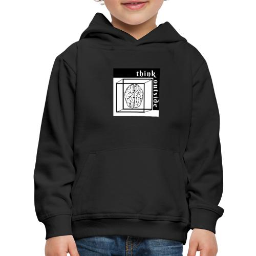 think outside the box - Kids' Premium Hoodie