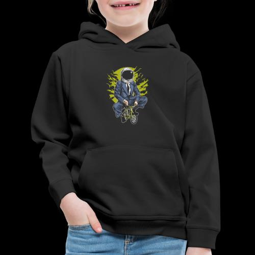 Bike to Work Space - Kids' Premium Hoodie
