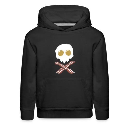 Breakfast Skull - Kids' Premium Hoodie