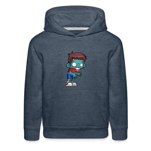 male zombie - Kids' Premium Hoodie