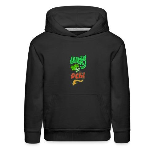 Lucky devil - Kids' Premium Hoodie