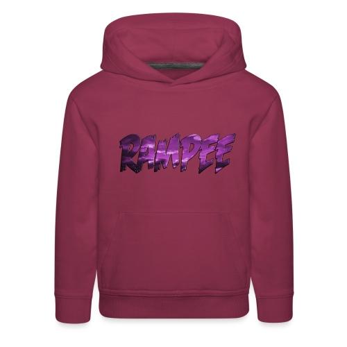 Purple Cloud Rampee - Kids' Premium Hoodie