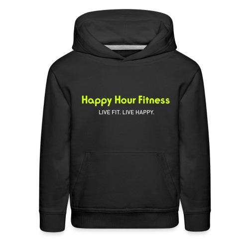 HHF_logotypeandtag - Kids' Premium Hoodie