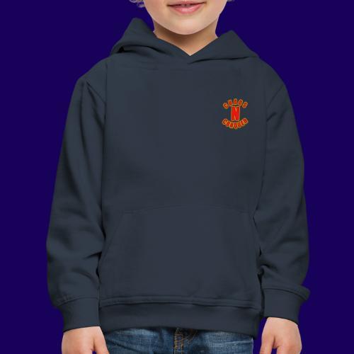 ChaosNConquer Minimalist Logo Print - Kids' Premium Hoodie