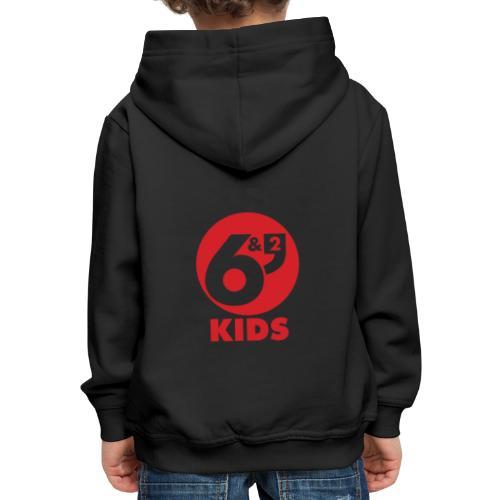 6et2 logo v2 kids 02 - Kids' Premium Hoodie