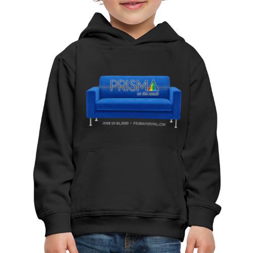 Blue Couch - Kids' Premium Hoodie