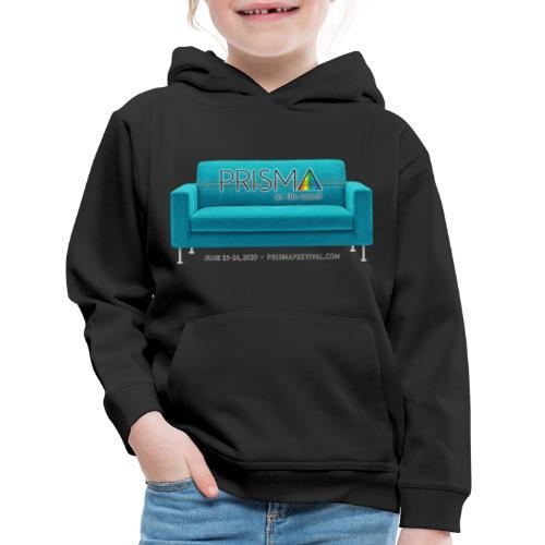 Teal Couch - Kids' Premium Hoodie