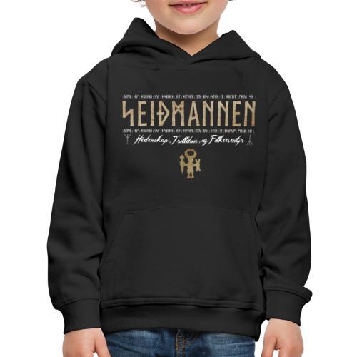 SEIÐMANNEN - Heathenry, Magic & Folktales - Kids' Premium Hoodie