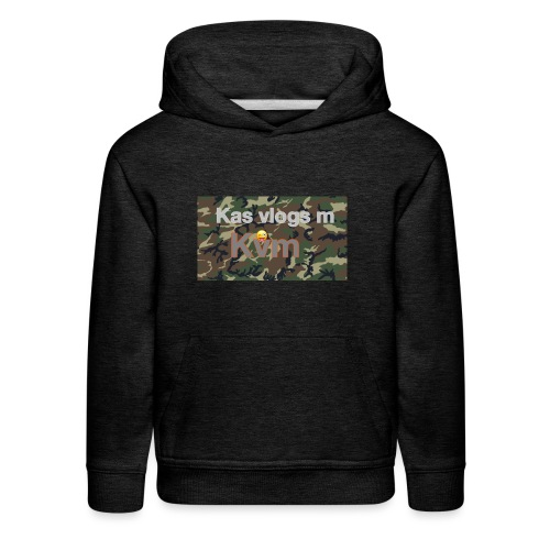 Camo jamper - Kids' Premium Hoodie