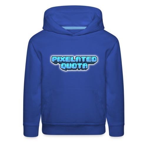 Pixel (Blue) - Kids' Premium Hoodie