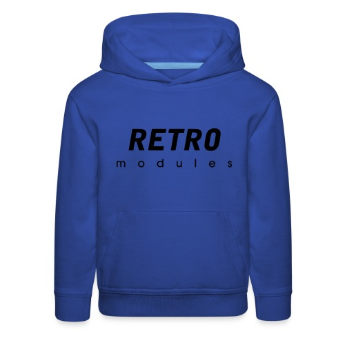 Retro Modules - sans frame - Kids' Premium Hoodie