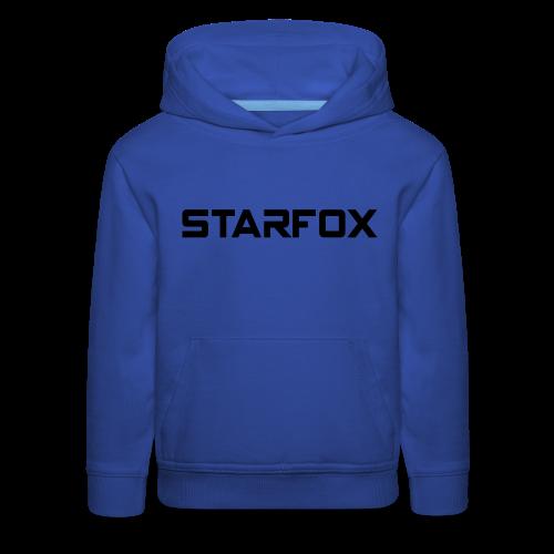 STARFOX Text - Kids' Premium Hoodie