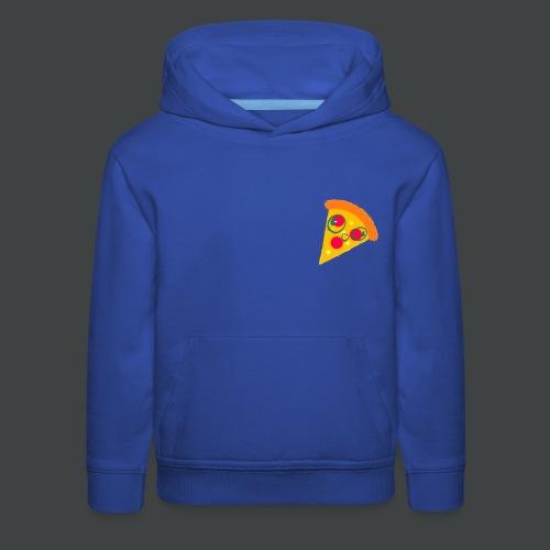 Cartoony Pizza Logo - Kids' Premium Hoodie