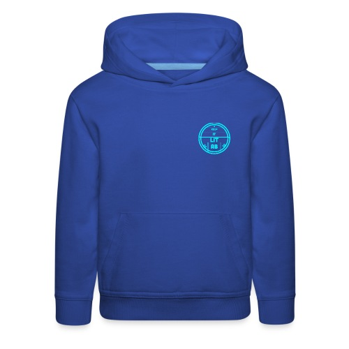 AB KEPP IT LIT 50 SUBS MERCH - Kids' Premium Hoodie