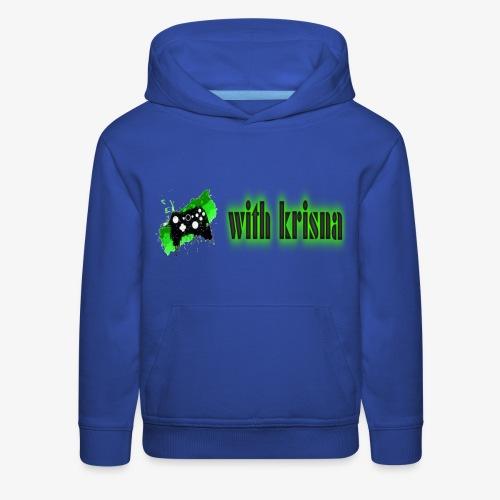 gaming with krisna merch - Kids' Premium Hoodie