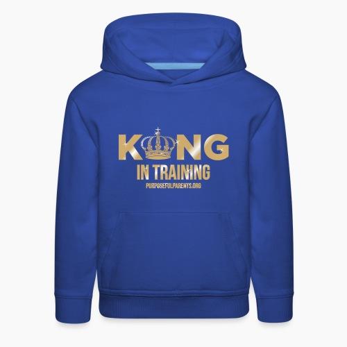 King in Training - Kids' Premium Hoodie