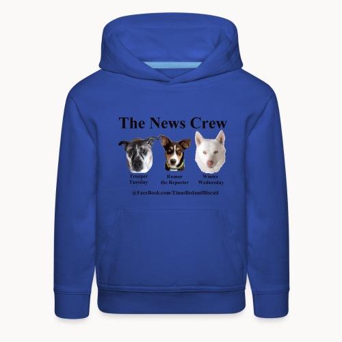 NewsCrew - Kids' Premium Hoodie
