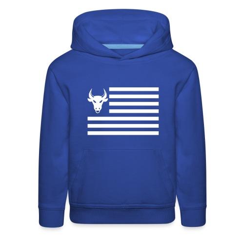 PivotBoss Flag White - Kids' Premium Hoodie