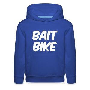 BAIT BIKE WHITE - Kids' Premium Hoodie