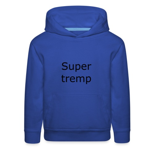 Super tremp name logo - Kids' Premium Hoodie