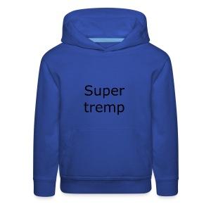 Super tremp name logo - Kids' Premium Hoodie