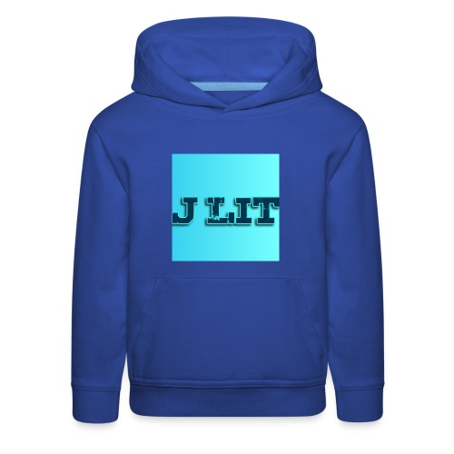 U can always be Lit - Kids' Premium Hoodie