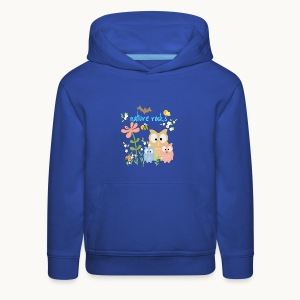 NATURE ROCKS CHILDREN Carolyn Sandstrom THR - Kids' Premium Hoodie