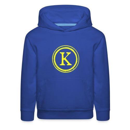 1000x1000 yellow logo - Kids' Premium Hoodie